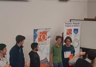 Liceo AS clasificado en Olimpíadas de Química 2018!